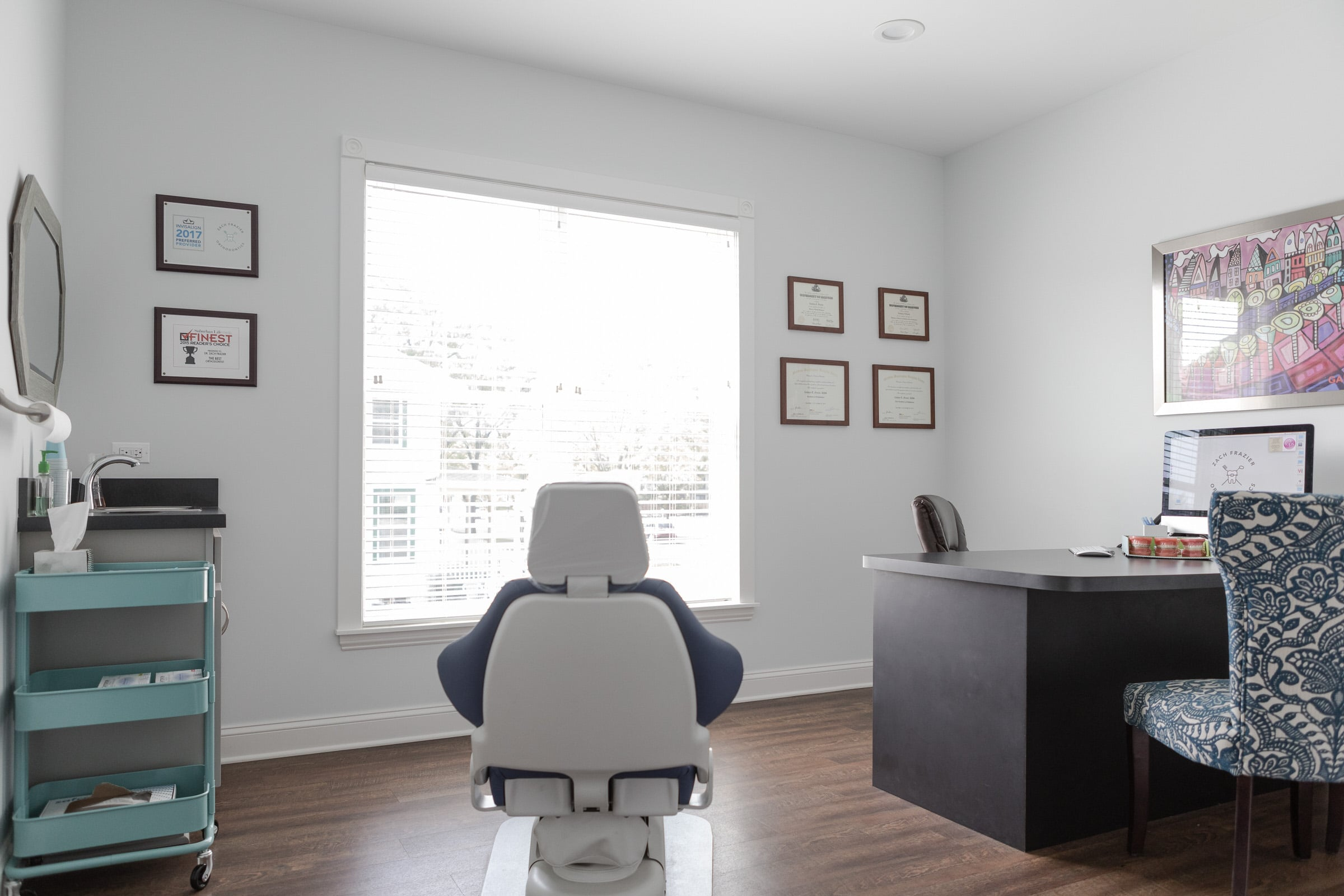 orthodontics consultation room
