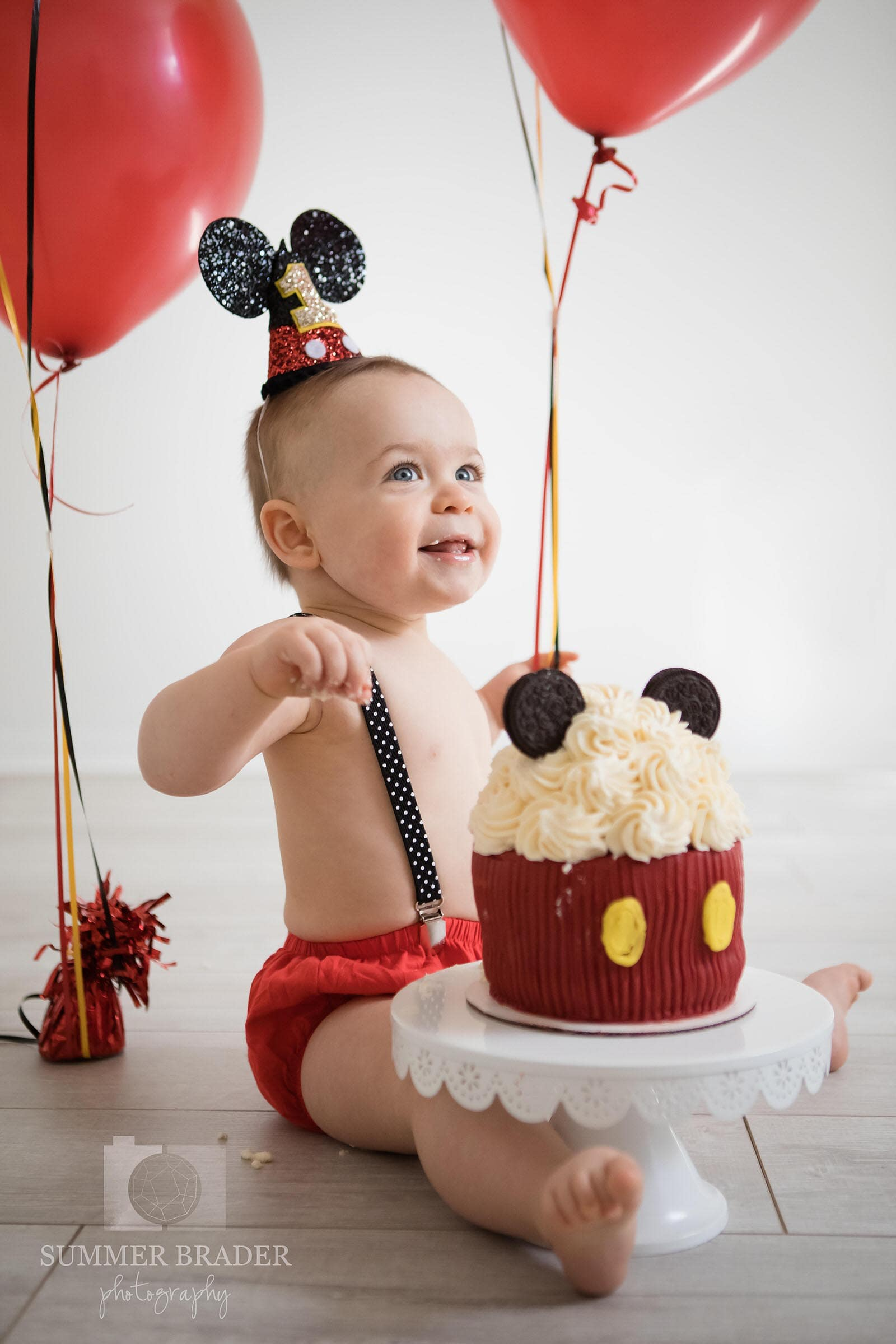 downers grove smash cake photography