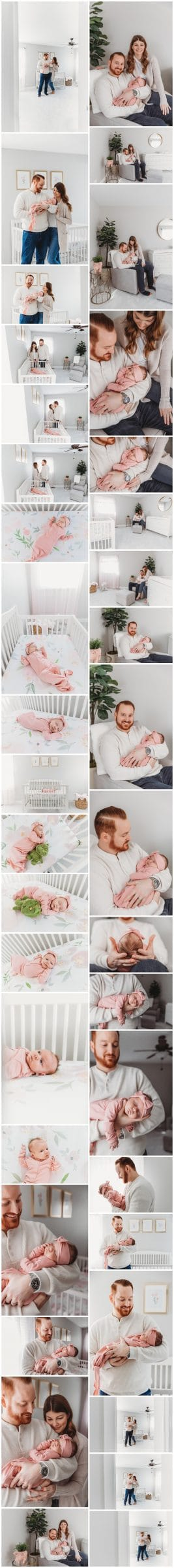 Downers Grove In Home Newborn Session