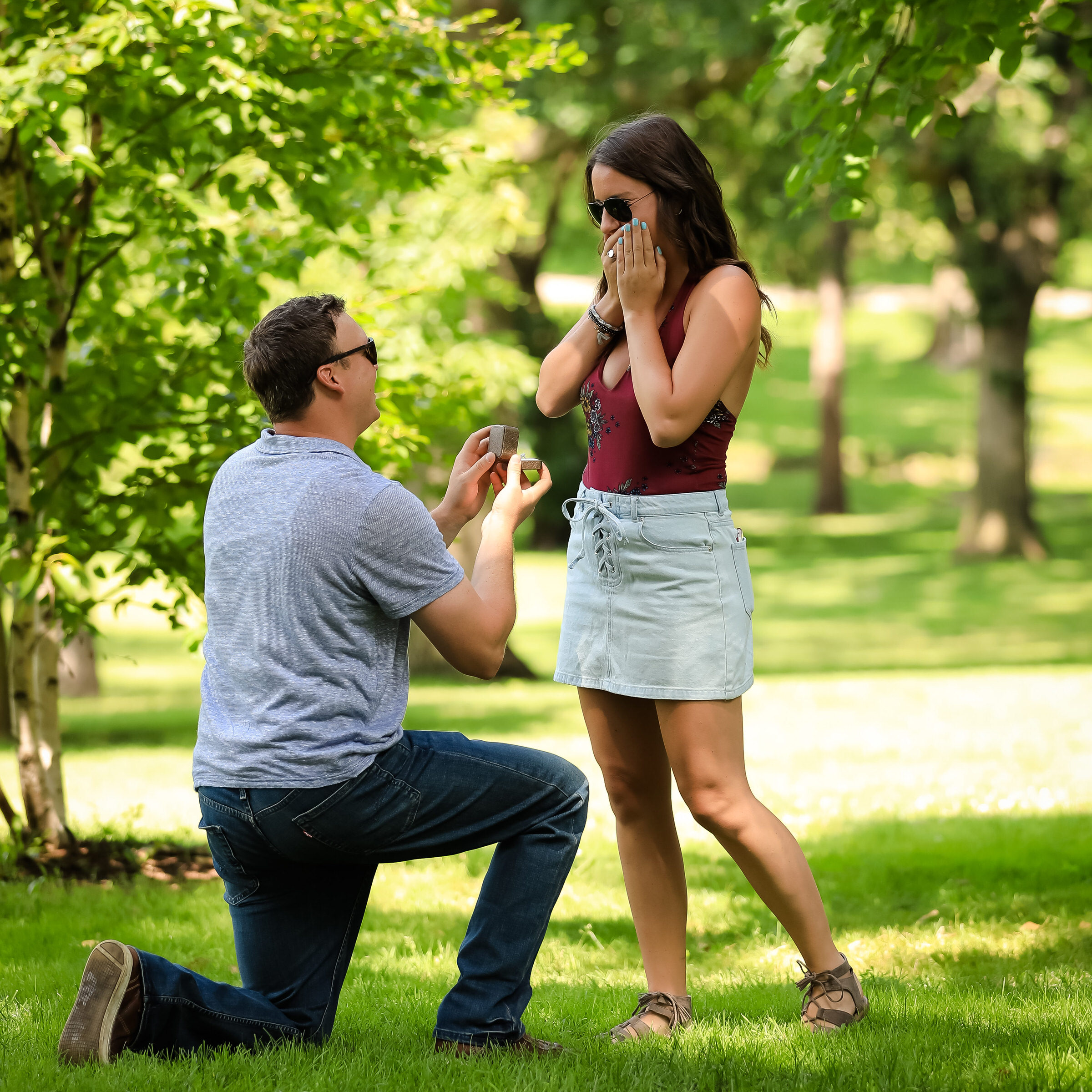 engagement photography hinsdale